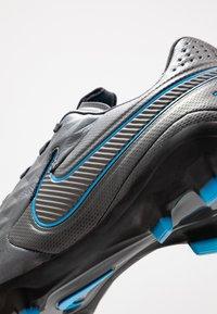 Nike Performance - TIEMPO LEGEND 8 PRO FG - Tekonurmikengät - black/blue hero - 5