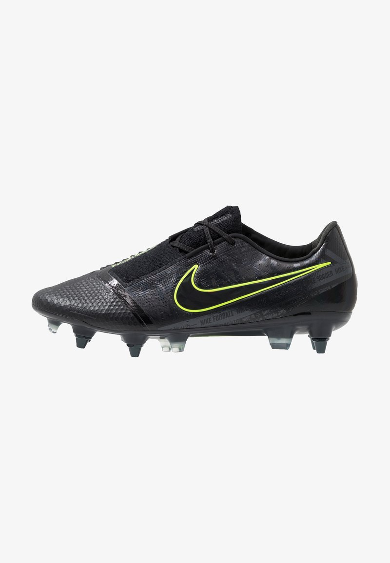Nike Performance - PHANTOM ELITE SG-PRO AC - Fußballschuh Stollen - black/volt