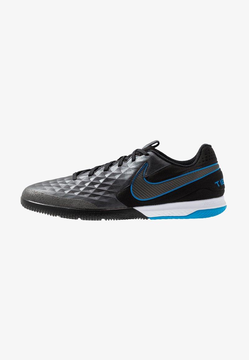 Nike Performance - REACT LEGEND 8 PRO IC - Fußballschuh Halle - black/blue hero