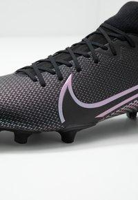 Nike Performance - MERCURIAL ACADEMY FG/MG - Voetbalschoenen met kunststof noppen - black - 2