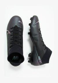 Nike Performance - MERCURIAL ACADEMY FG/MG - Voetbalschoenen met kunststof noppen - black - 1