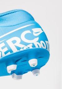Nike Performance - MERCURIAL 7 CLUB MG - Tekonurmikengät - blue hero/white/obsidian - 5