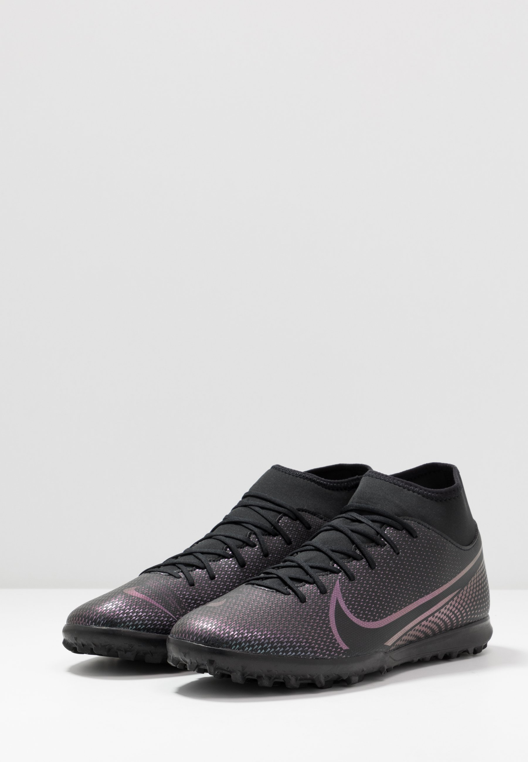 Nike Performance MERCURIAL CLUB TF - Scarpe da calcetto con tacchetti - black