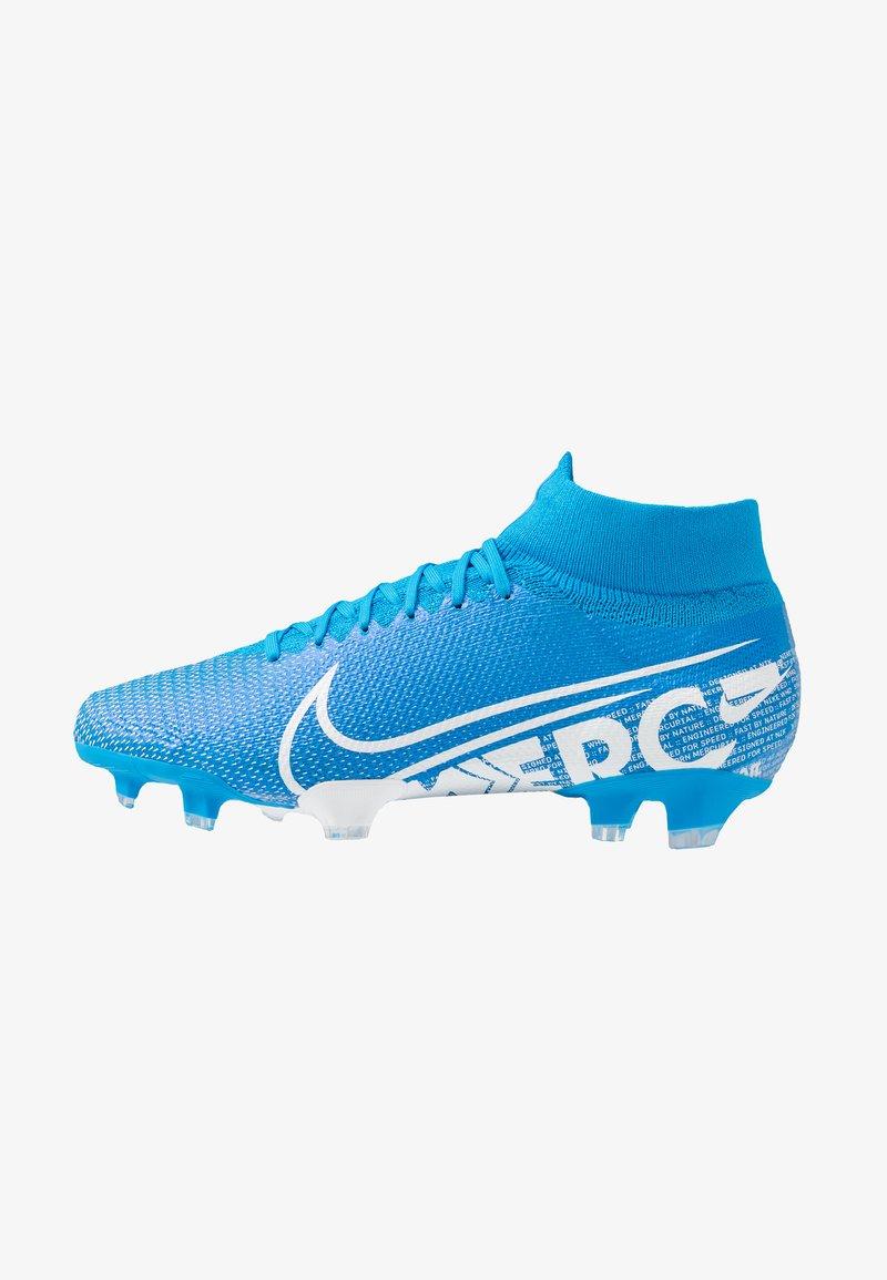 Nike Performance - 7 PRO FG - Fußballschuh Nocken - blue hero/white/obsidian