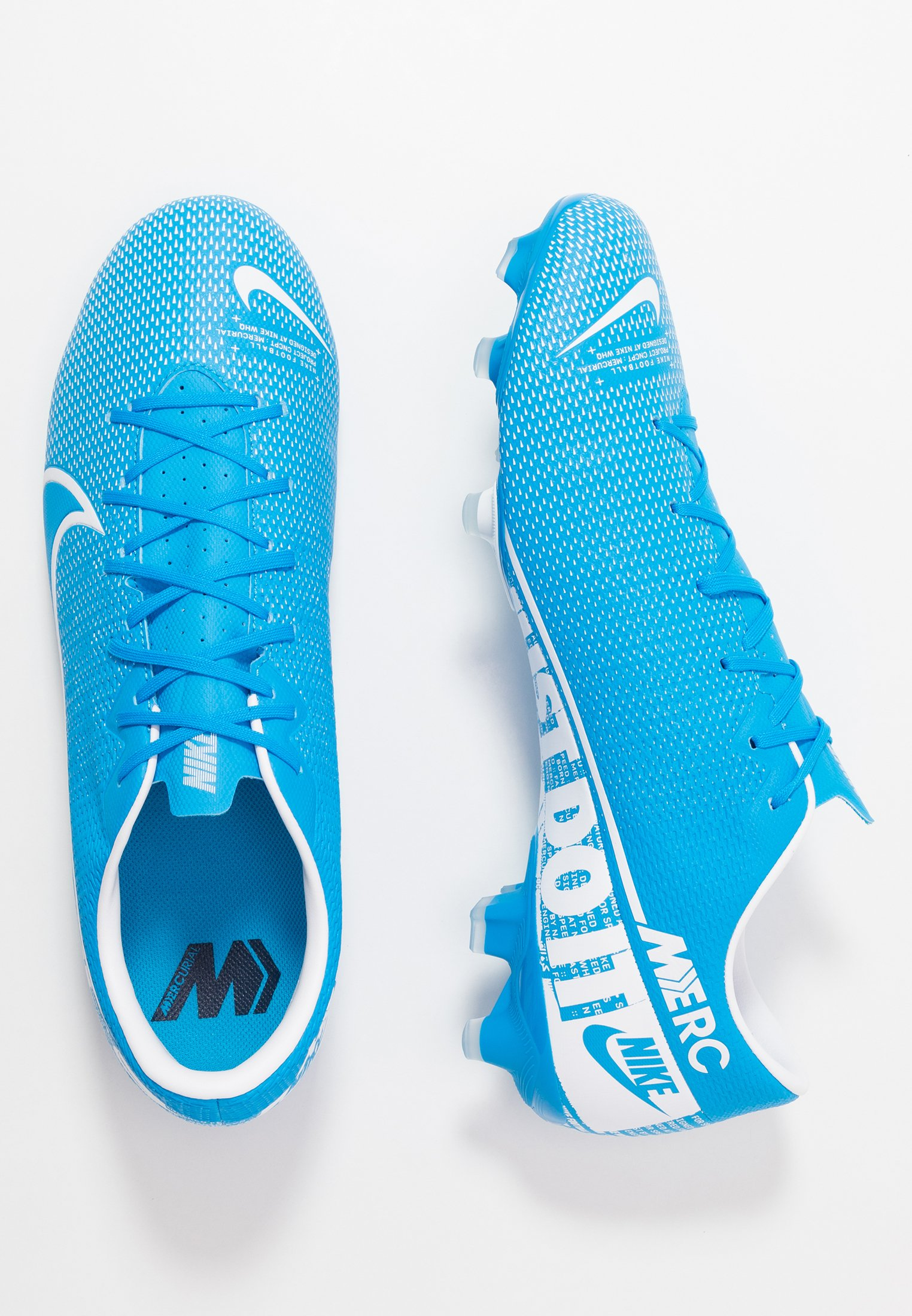 Nike Performance MERCURIAL VAPOR 13 ACADEMY MG - Moulded stud football boots - blue hero/white/obsidian