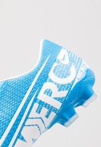 Nike Performance - MERCURIAL VAPOR 13 ACADEMY MG - Kopačky lisovky - blue hero/white/obsidian - 5