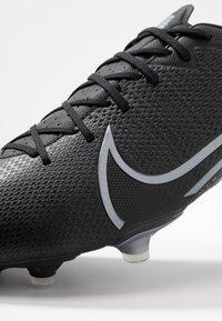 Nike Performance - MERCURIAL VAPOR 13 ACADEMY MG - Voetbalschoenen met kunststof noppen - black/metallic cool grey/cool grey - 5