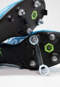 Nike Performance - VAPOR 13 ACADEMY SG-PRO AC - Voetbalschoenen met metalen noppen - blue hero/white/obsidian - 5