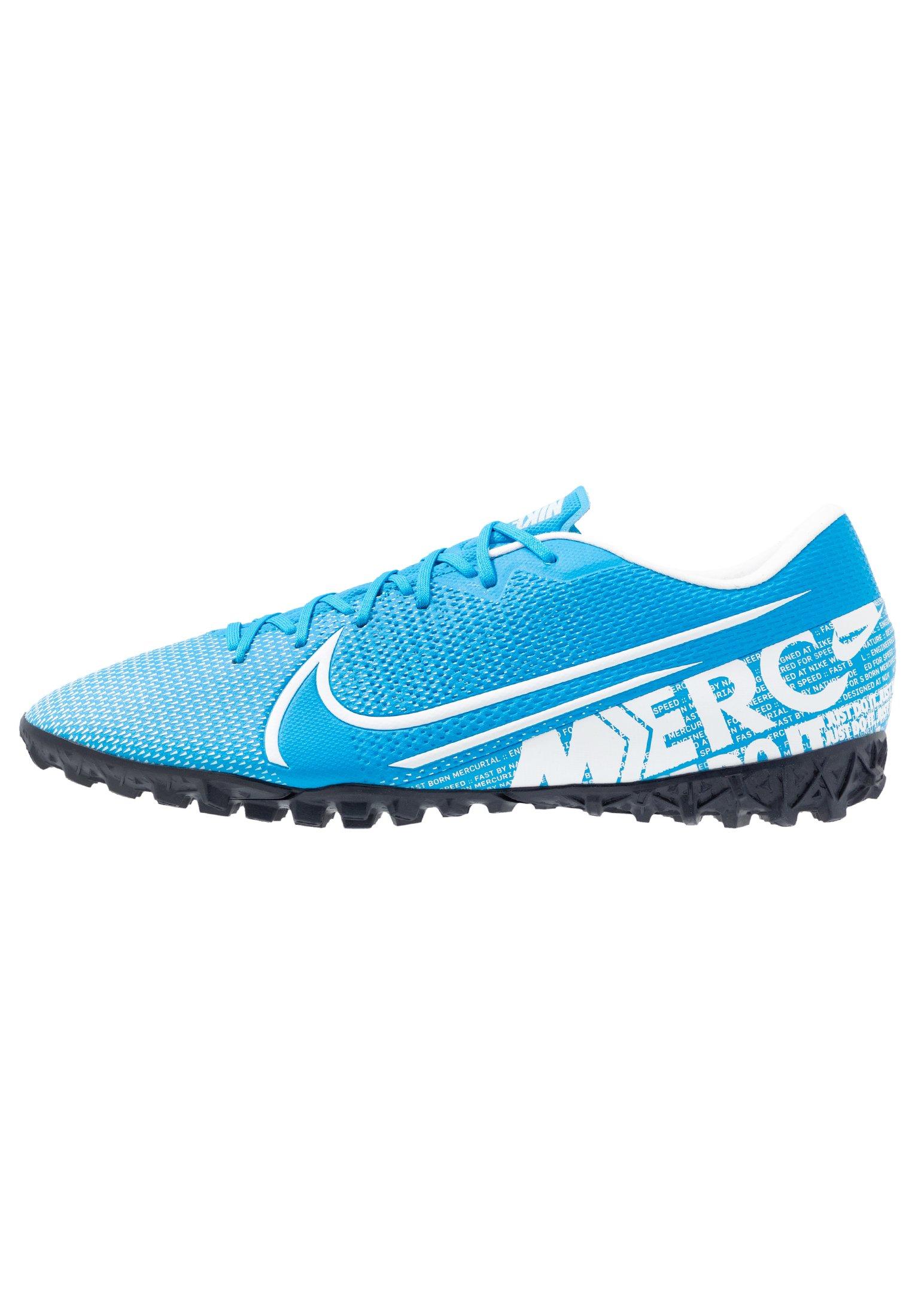 MERCURIAL VAPOR 13 ACADEMY TF Chaussures de foot multicrampons blue herowhiteobsidian