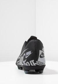 Nike Performance - MERCURIAL VAPOR - Voetbalschoenen met kunststof noppen - black/metallic cool grey/cool grey - 3