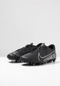Nike Performance - MERCURIAL VAPOR - Voetbalschoenen met kunststof noppen - black/metallic cool grey/cool grey - 2