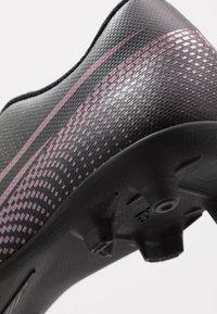 Nike Performance - MERCURIAL VAPOR - Voetbalschoenen met kunststof noppen - black - 5