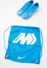 Nike Performance - MERCURIAL VAPOR 13 ELITE FG - Kopačky lisovky - blue hero/white/obsidian - 5