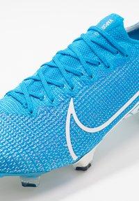Nike Performance - MERCURIAL VAPOR 13 ELITE FG - Kopačky lisovky - blue hero/white/obsidian - 6