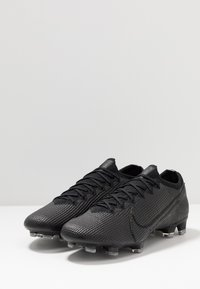 Nike Performance - MERCURIAL VAPOR 13 ELITE FG - Voetbalschoenen met kunststof noppen - black/matte silver/metallic cool grey/blue fury - 2