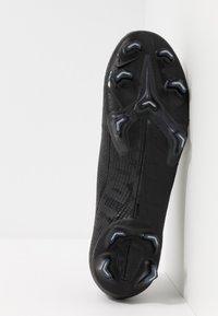 Nike Performance - MERCURIAL VAPOR 13 ELITE FG - Voetbalschoenen met kunststof noppen - black/matte silver/metallic cool grey/blue fury - 4