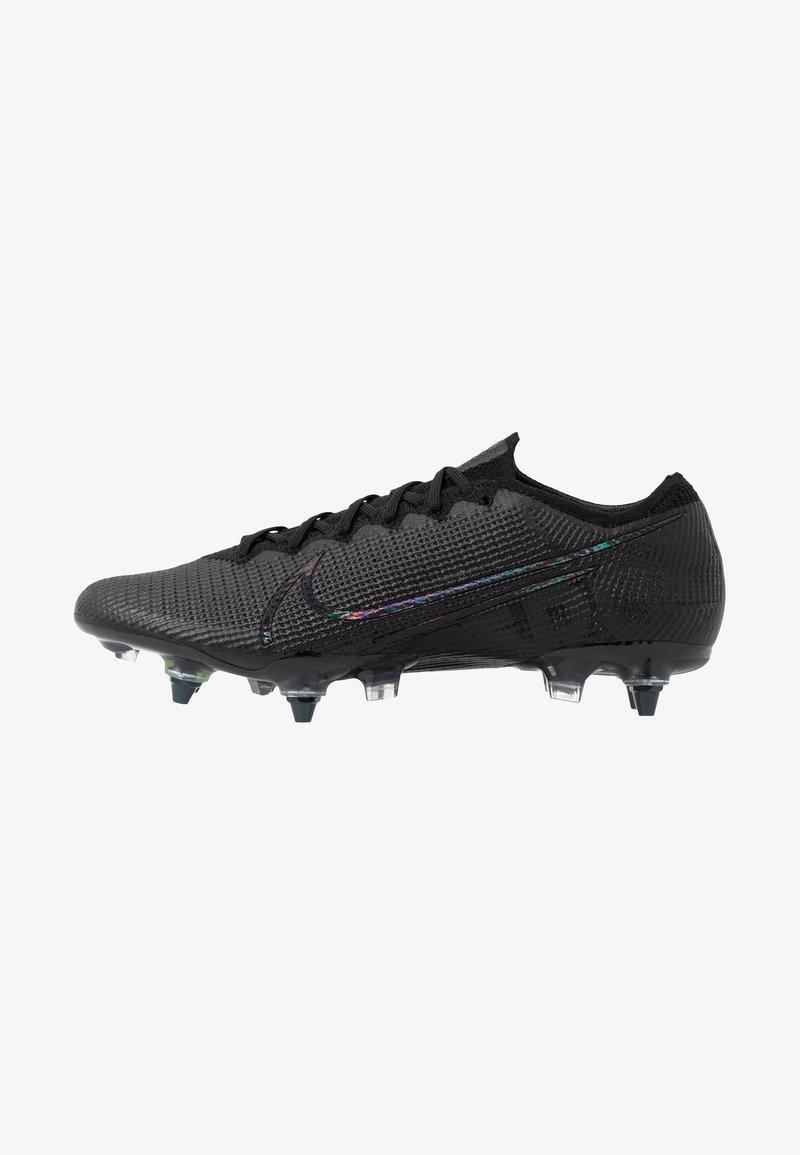 Nike Performance - MERCURIAL VAPOR 13 ELITE SG-PRO AC - Screw-in stud football boots - black/matte silver/metallic cool grey/blue fury