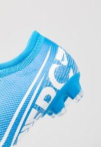 Nike Performance - VAPOR 13 PRO FG - Tekonurmikengät - blue hero/white/obsidian - 5