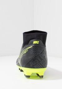 Nike Performance - PHANTOM VSN PRO DF FG - Voetbalschoenen met kunststof noppen - black/volt - 3