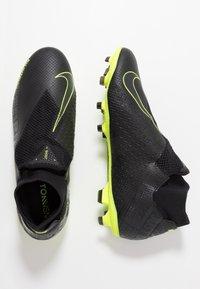 Nike Performance - PHANTOM VSN PRO DF FG - Voetbalschoenen met kunststof noppen - black/volt - 1