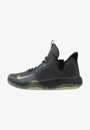 KD TREY 5 VII - Basketball shoes - dark grey/metalic gold/black/club gold