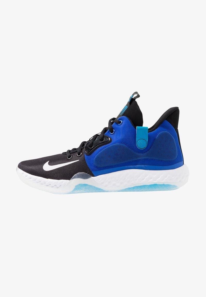 Nike Performance - KD TREY 5 VII - Obuwie do koszykówki - racer blue/white/black/blue hero/deep royal blue