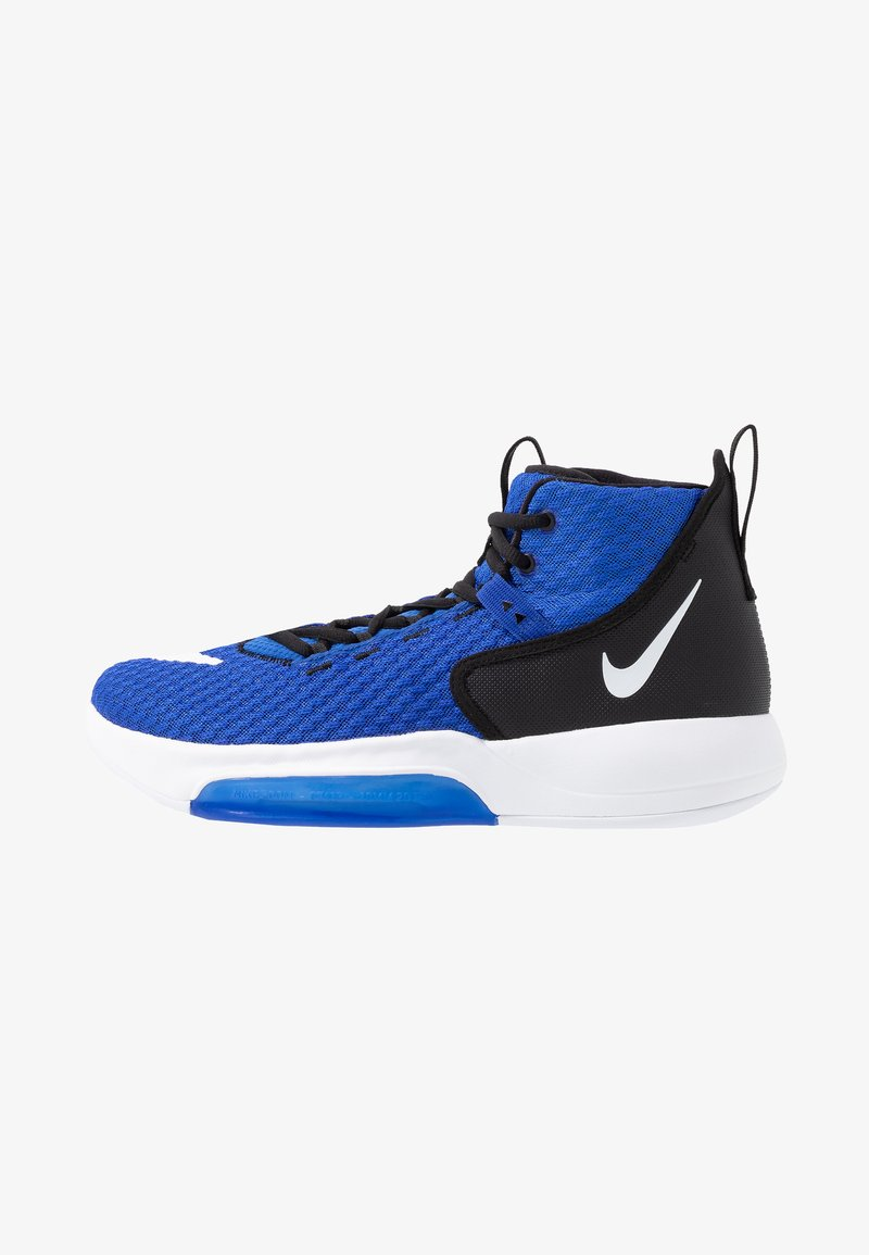 Nike Performance - ZOOM RIZE TB - Obuwie do koszykówki - game royal/white/black