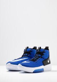 Nike Performance - ZOOM RIZE TB - Obuwie do koszykówki - game royal/white/black - 2