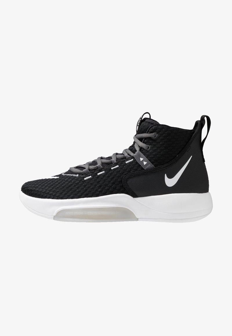 Nike Performance - ZOOM RIZE TB - Basketsko - black/white/wolf grey