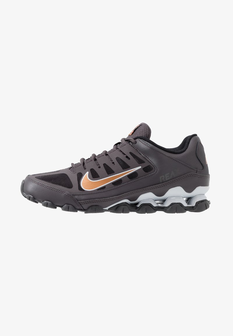 Nike Performance - REAX 8 TR - Zapatillas de entrenamiento - thunder grey/metallic copper/pure platinum/black