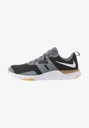 RENEW RETALIATION TRAINER - Sports shoes - dark smoke grey/white/smoke grey/light brown