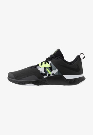RENEW RETALIATION TRAINER - Sports shoes - dark smoke grey/black/ghost green/white/sapphire