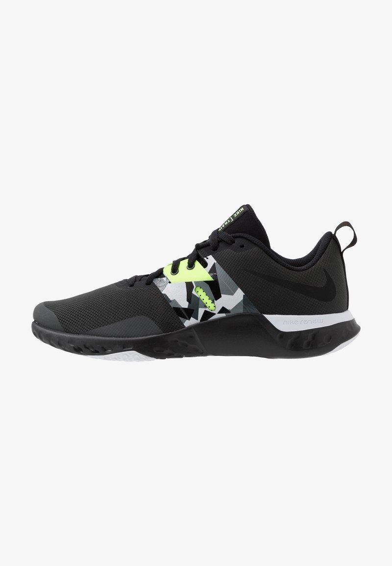 Nike Performance - RENEW RETALIATION TRAINER - Obuwie treningowe - dark smoke grey/black/ghost green/white/sapphire