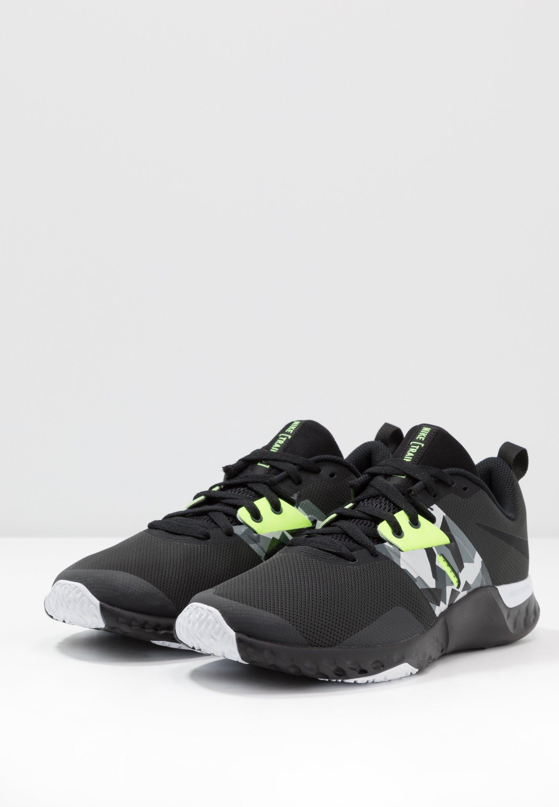 Nike Performance RENEW RETALIATION TRAINER - Obuwie treningowe - dark smoke grey/black/ghost green/white/sapphire