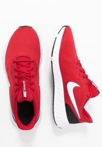 Nike Performance - REVOLUTION 5 - Neutral running shoes - gym red/white/black - 1