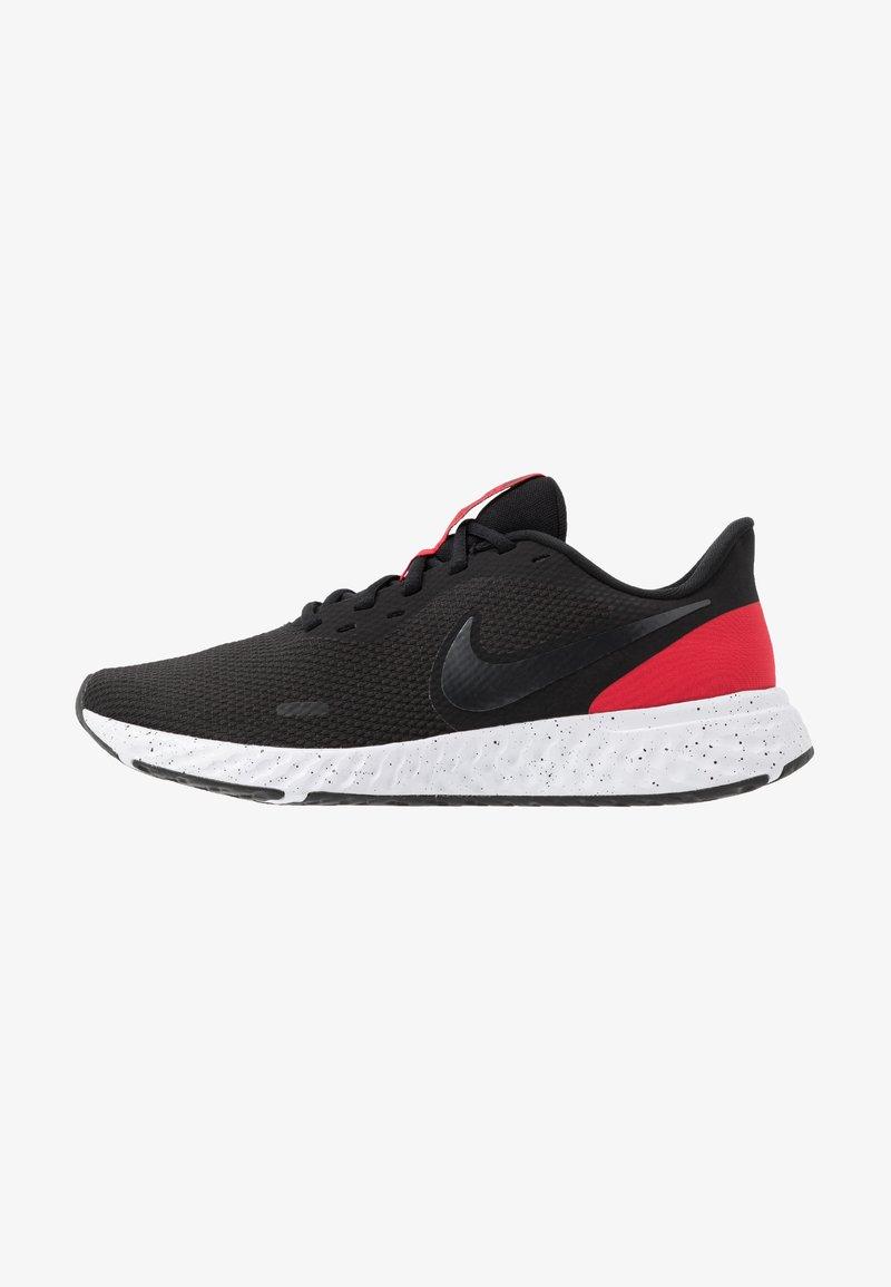 Nike Performance - REVOLUTION 5 - Neutrala löparskor - black/anthracite/university red