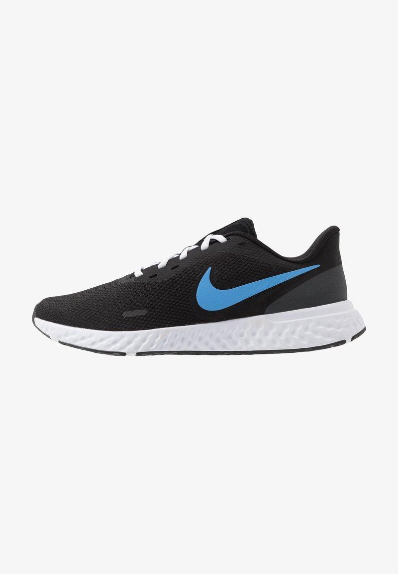 Nike Performance - REVOLUTION 5 - Zapatillas de running neutras - black/university blue/laser orange/white/anthracite