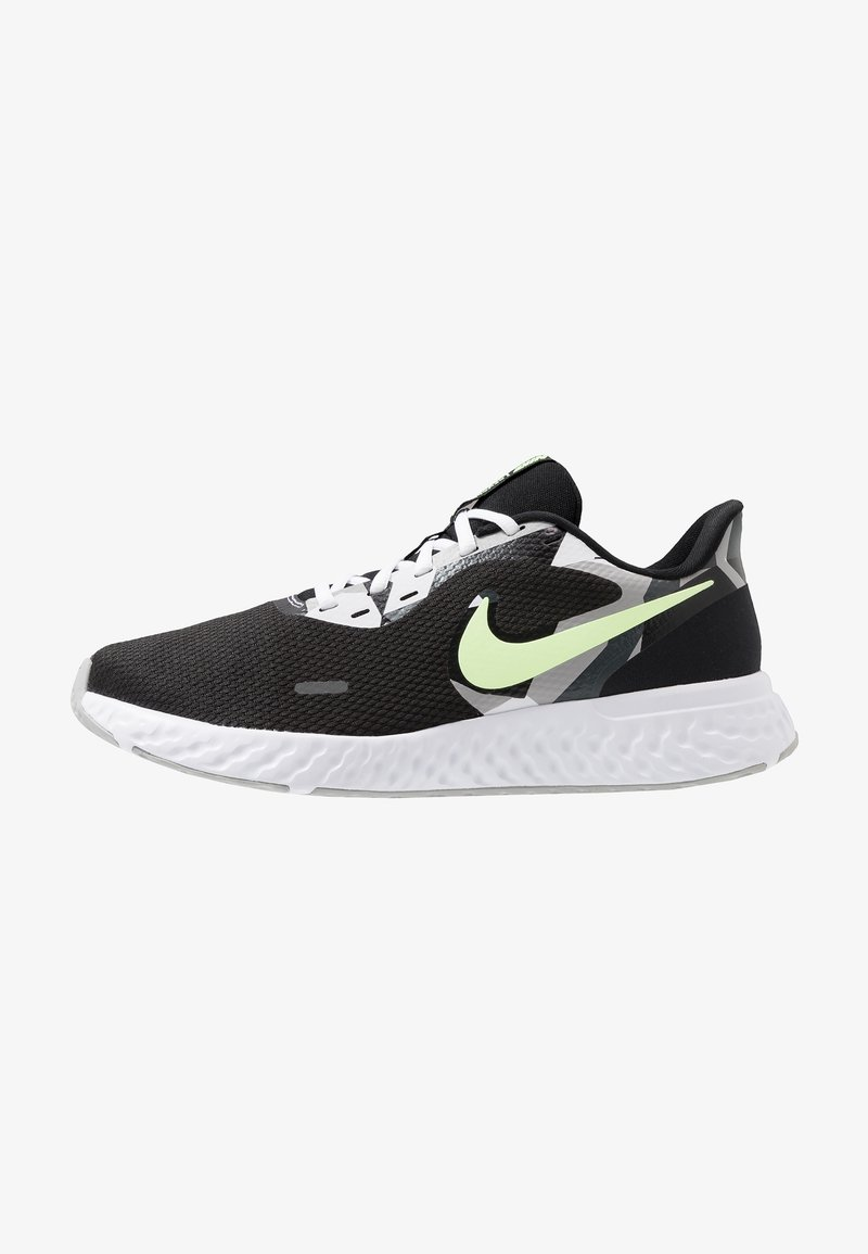 Nike Performance - REVOLUTION 5 - Hardloopschoenen neutraal - black/white/ghost green/sapphire/dark smoke grey/light smoke grey
