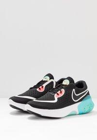 Nike Performance - JOYRIDE DUAL RUN - Hardloopschoenen neutraal - black/metallic summit white/hot punch - 2