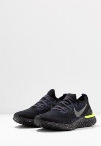 Nike Performance - EPIC REACT FLYKNIT 2 SE - Neutrala löparskor - black/sequoia/summit white - 2