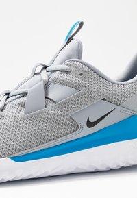 Nike Performance - RENEW ARENA SPT - Zapatillas de running neutras - wolf grey/black/white/blue hero - 5