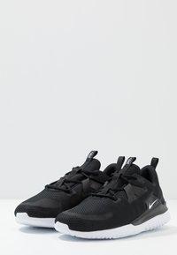 Nike Performance - RENEW ARENA SPT - Zapatillas de running neutras - black/white - 2