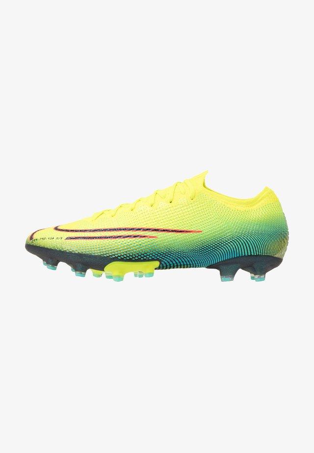 MERCURIAL VAPOR 13 ELITE AG-PRO - Voetbalschoenen met kunststof noppen - lemon/black/aurora green
