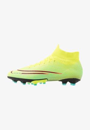 MERCURIAL 7 PRO MDS AG - Chaussures de foot à crampons - lemon/black/aurora green