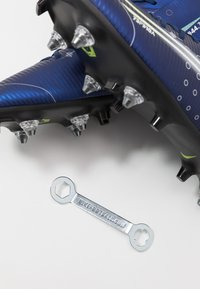 Nike Performance - MERCURIAL SFLY 7 ACADEMY SG-PRO AC - Chaussures de foot à lamelles - blue void/metallic silver/white/black - 6