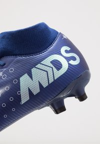 Nike Performance - MERCURIAL 7 ACADEMY FG/MG - Korki Turfy - blue void/metallic silver/white/black - 5