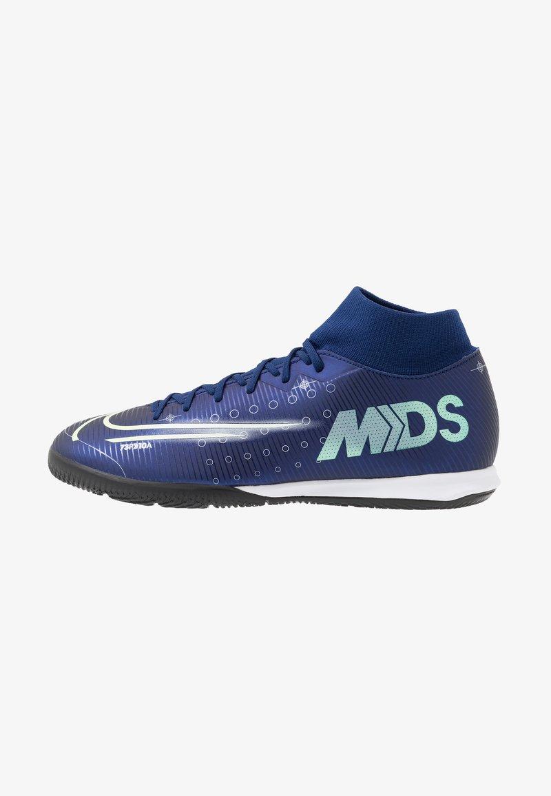 Nike Performance - MERCURIAL 7 ACADEMY IC - Halówki - blue void/metallic silver/white/black