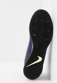 Nike Performance - MERCURIAL 7 ACADEMY IC - Halówki - blue void/metallic silver/white/black - 4