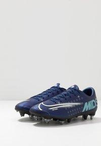 Nike Performance - MERCURIAL VAPOR 13 ACADEMY SG-PRO AC - Nurmikengät - blue void/metallic silver/white/black - 2