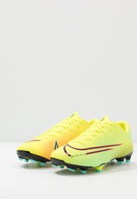 Nike Performance - MERCURIAL VAPOR 13 ACADEMY FG/MG - Korki Lanki - lemon/black/aurora green - 2